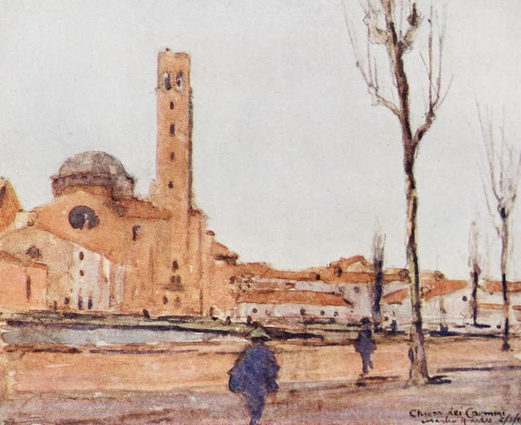 Our Italian Front - The Chiesa dei Carmini, Padua (1920)