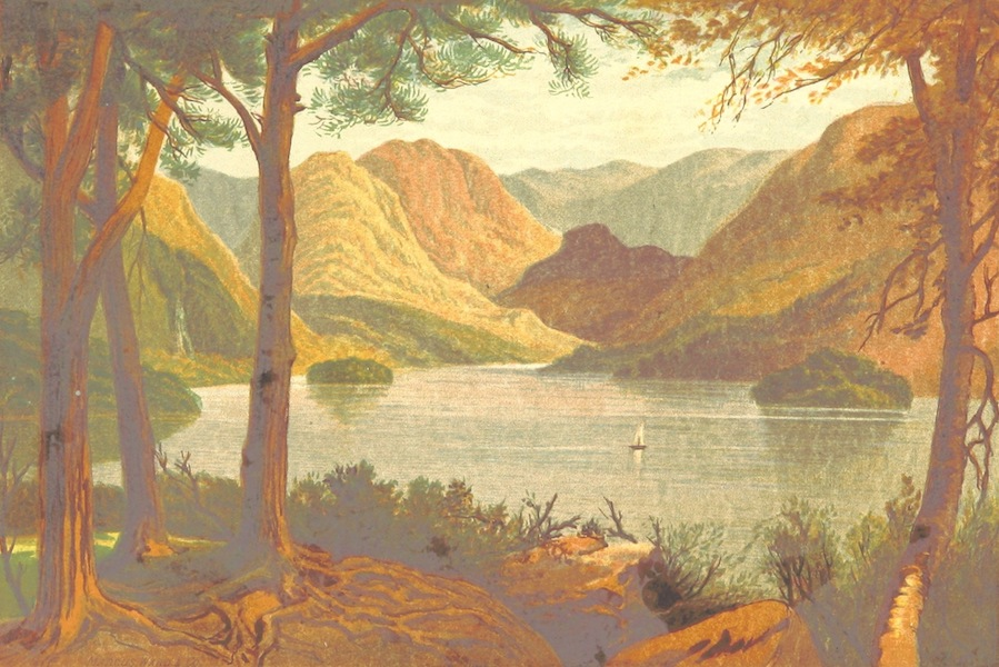 Our Native Land, Its Scenery and Associations - Rydal Falls (1879)