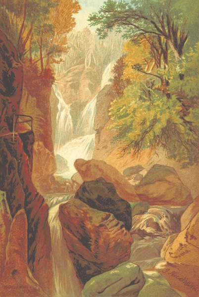 Our Native Land, Its Scenery and Associations - Stock Gill Force (1879)