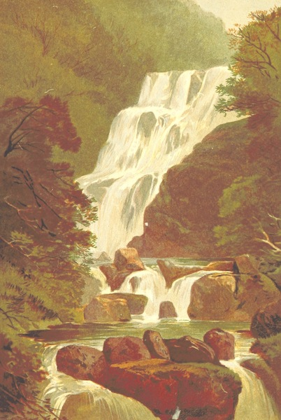 Our Native Land, Its Scenery and Associations - Torc Waterfall (1879)