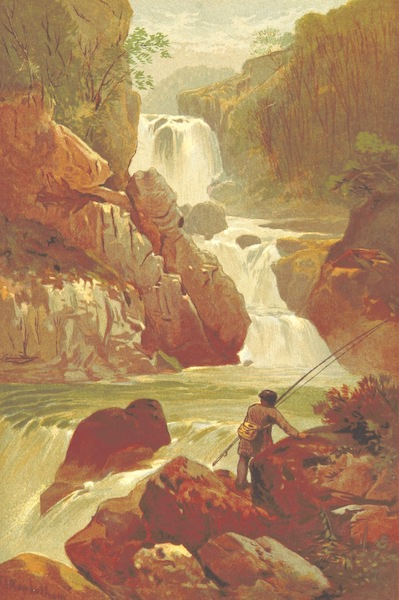 Our Native Land, Its Scenery and Associations - O'Sullivan's Cascade (1879)