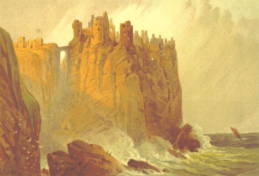 Our Native Land, Its Scenery and Associations - Dunluce Castle (1879)