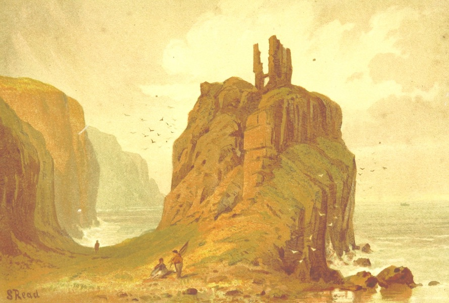Our Native Land, Its Scenery and Associations - Dunseverick Castle (1879)