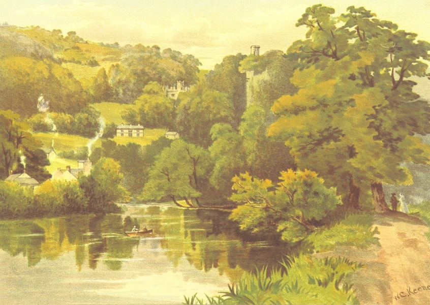 Our Native Land, Its Scenery and Associations - The Lover's Walk, Matlock, Bath (1879)
