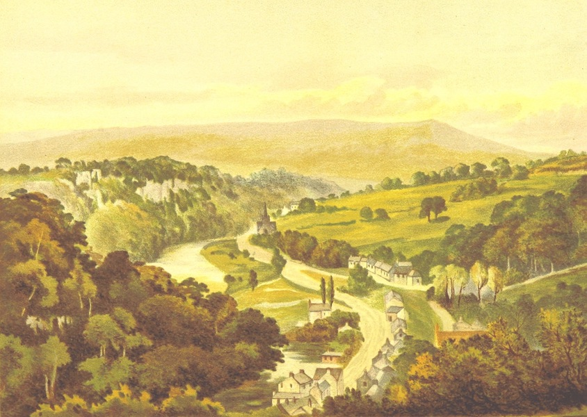 Our Native Land, Its Scenery and Associations - Matlock from the Heights of Abraham (1879)