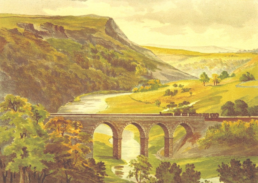 Our Native Land, Its Scenery and Associations - Monsal Dale (1879)