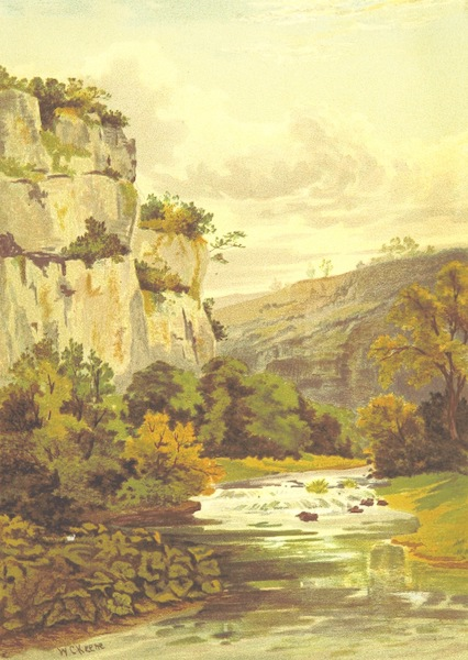 Our Native Land, Its Scenery and Associations - The River Wye near Buxton (1879)