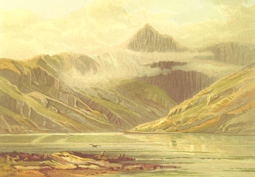 Our Native Land, Its Scenery and Associations - Snowden from Llyn Llydaw (1879)