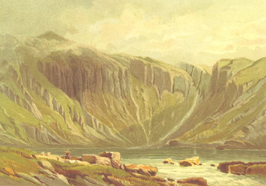 Our Native Land, Its Scenery and Associations - Llyn Idwal (1879)