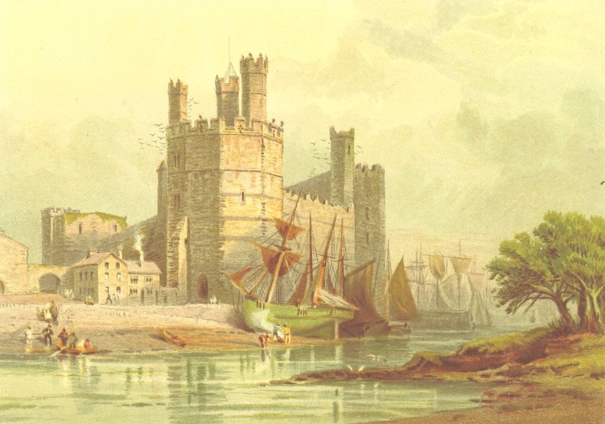 Our Native Land, Its Scenery and Associations - Carnarvon Castle (1879)
