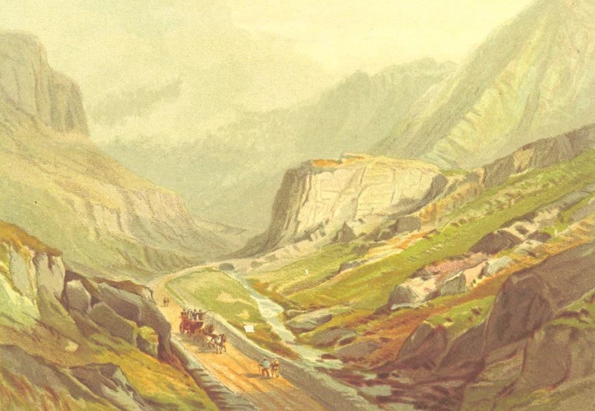 Our Native Land, Its Scenery and Associations - Pass of Llanberis (1879)
