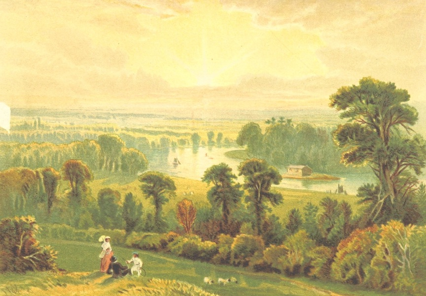 Our Native Land, Its Scenery and Associations - View from Richmond Hill (1879)