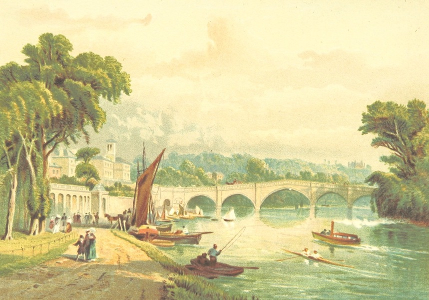 Our Native Land, Its Scenery and Associations - Richmond Bridge (1879)