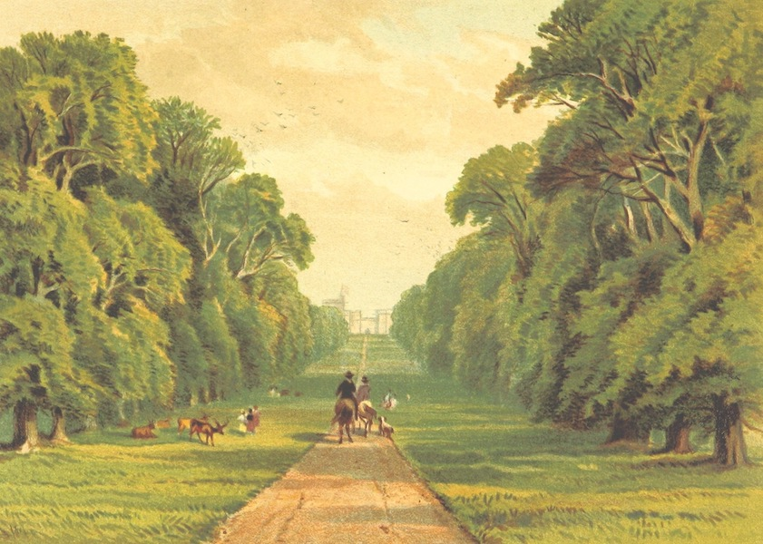 Our Native Land, Its Scenery and Associations - Long Walk, Windsor Park (1879)