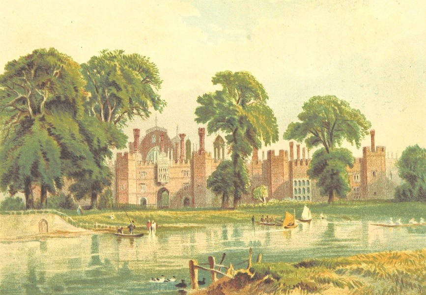 Our Native Land, Its Scenery and Associations - Hampton Court Palace (1879)