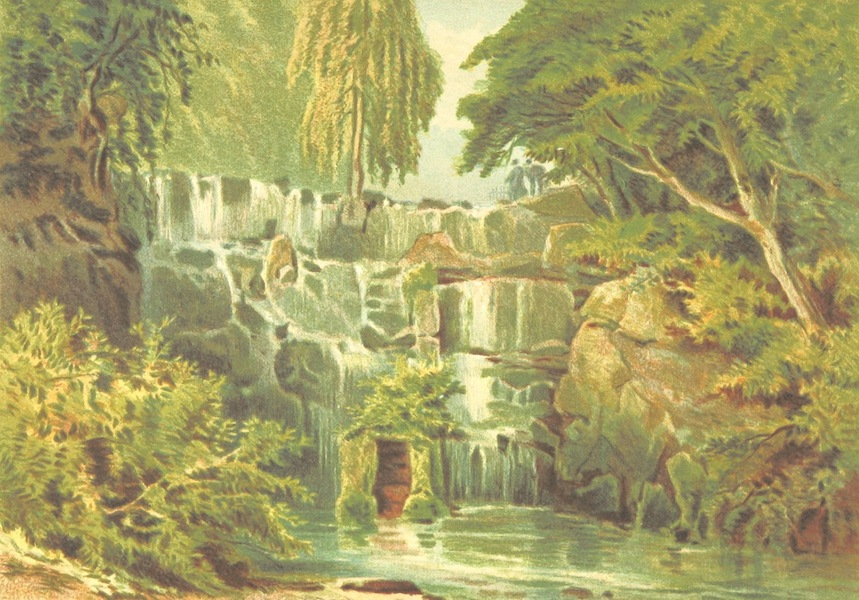 Our Native Land, Its Scenery and Associations - Cascade at Virginia Water (1879)
