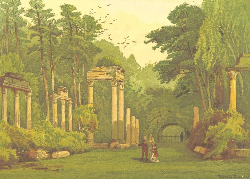 Our Native Land, Its Scenery and Associations - Ruins in Windsor Park (1879)