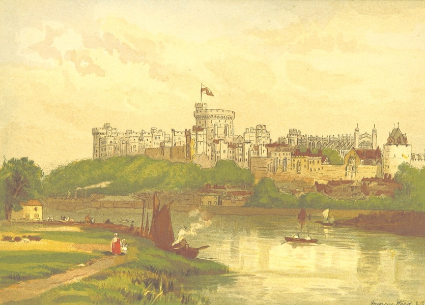 Our Native Land, Its Scenery and Associations - Windsor Castle (1879)