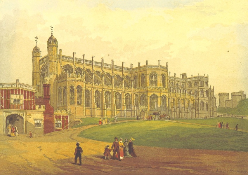 Our Native Land, Its Scenery and Associations - St. George's Chapel (1879)