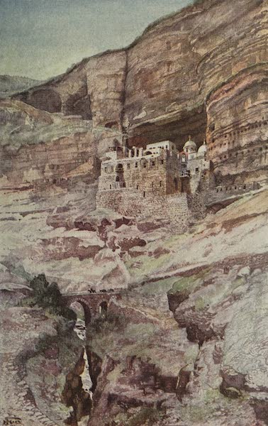 Out-of-Doors in the Holy Land - Great Monastery of St. George (1908)