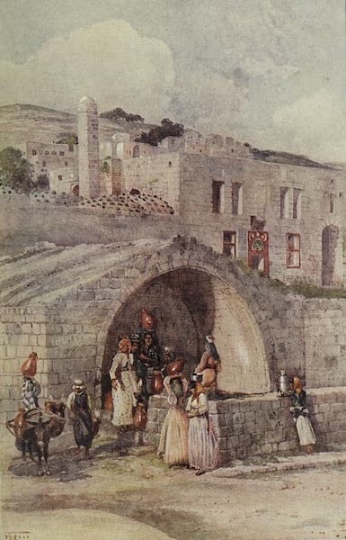 Out-of-Doors in the Holy Land - The Virgin's Fountain, Nazareth (1908)
