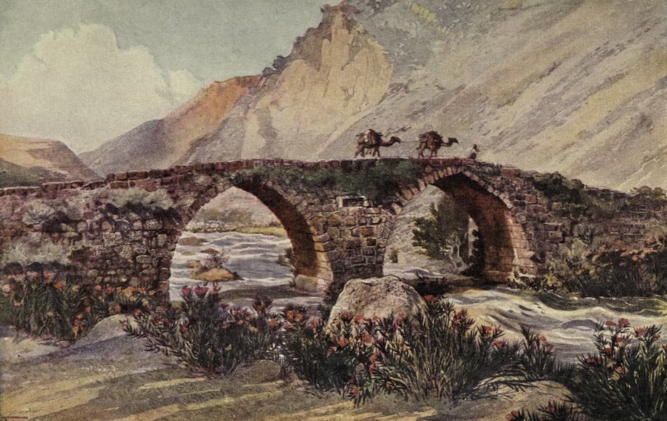 Out-of-Doors in the Holy Land - Bridge Over the River Litani (1908)