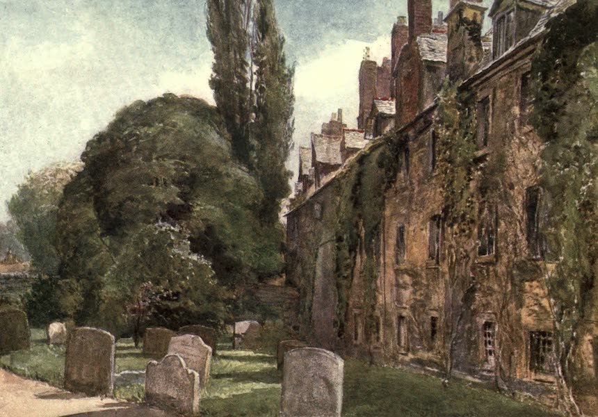 Oxford Painted and Described - St. Edmund's Hall - Mr. John Fulleylove, R.I (1903)