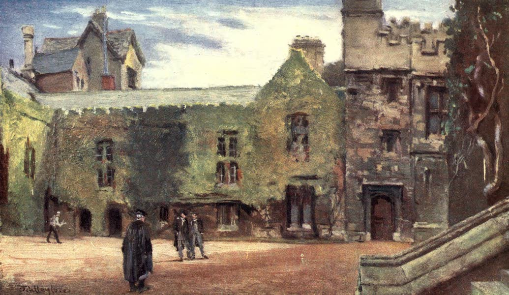 Oxford Painted and Described - Merton College and St. Alban's Hall - Mr. J. W. Taphouse (1903)