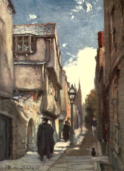 Oxford Painted and Described - Grove Street - Mr. J. W. Taphouse (1903)