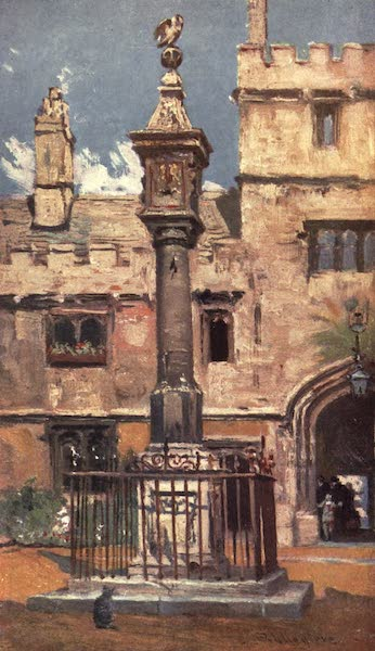 Oxford Painted and Described - Corpus Christi College - Mr. John Fulleylove, R.I (1903)