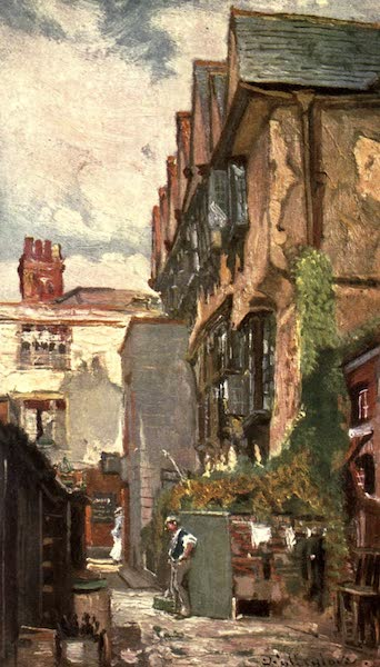 Oxford Painted and Described - Bishop King's House - Mr. John Fulleylove, R.I (1903)
