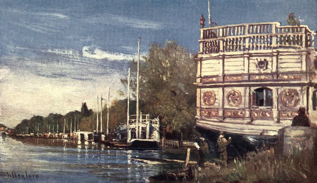 Oxford Painted and Described - The River Isis - Mr. John Fulleylove, R.I (1903)