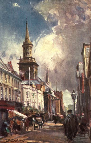 Oxford Painted and Described - The High Street looking East - Mr. A. T. Hollingsworth (1903)