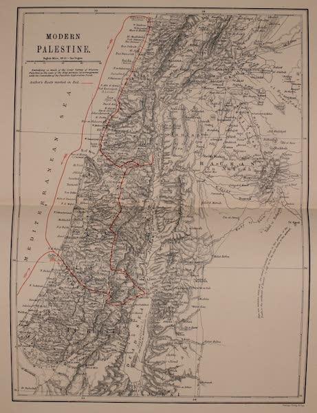 Palestine Illustrated - Modern Palestine (1888)