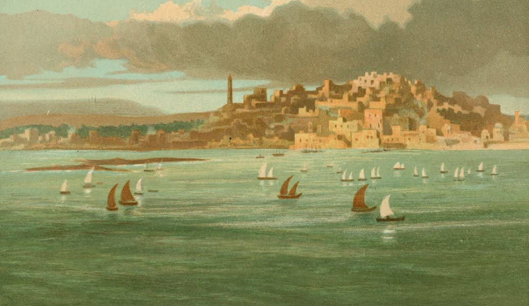 Palestine Illustrated - Joppa or Jaffa (1888)