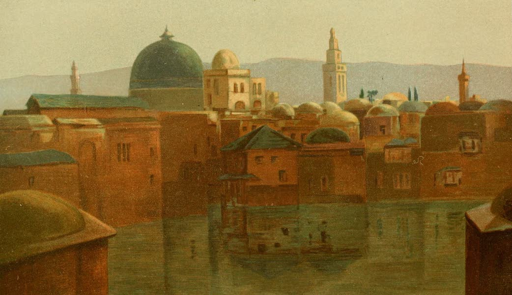 Palestine Illustrated - Church of the Holy Sepulchre (1888)