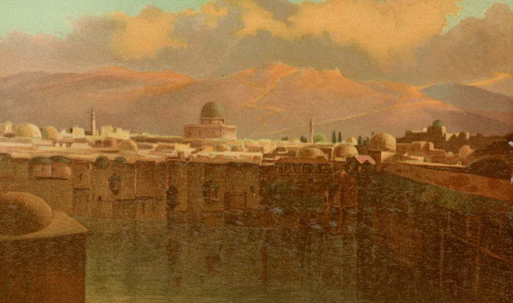 Palestine Illustrated - Jerusalem at Sunset (1888)