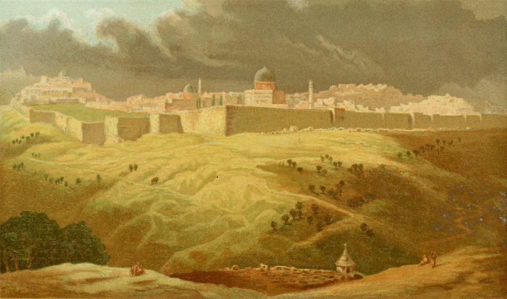 Palestine Illustrated - Jerusalem from Olivet (1888)