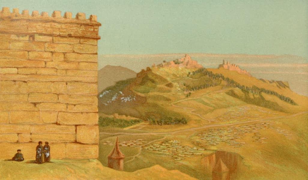Palestine Illustrated - Temple Corner (1888)