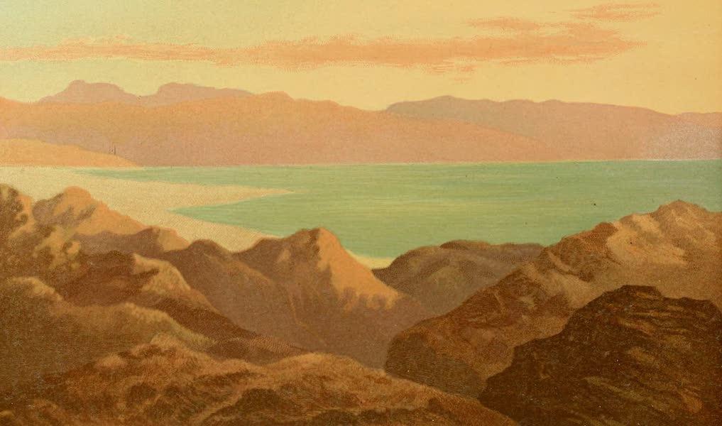 Palestine Illustrated - The Dead Sea (1888)