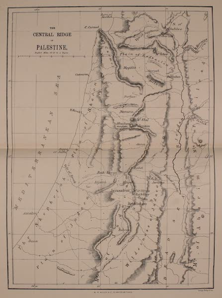 Palestine Illustrated - The Central Ridge of Palestine (1888)