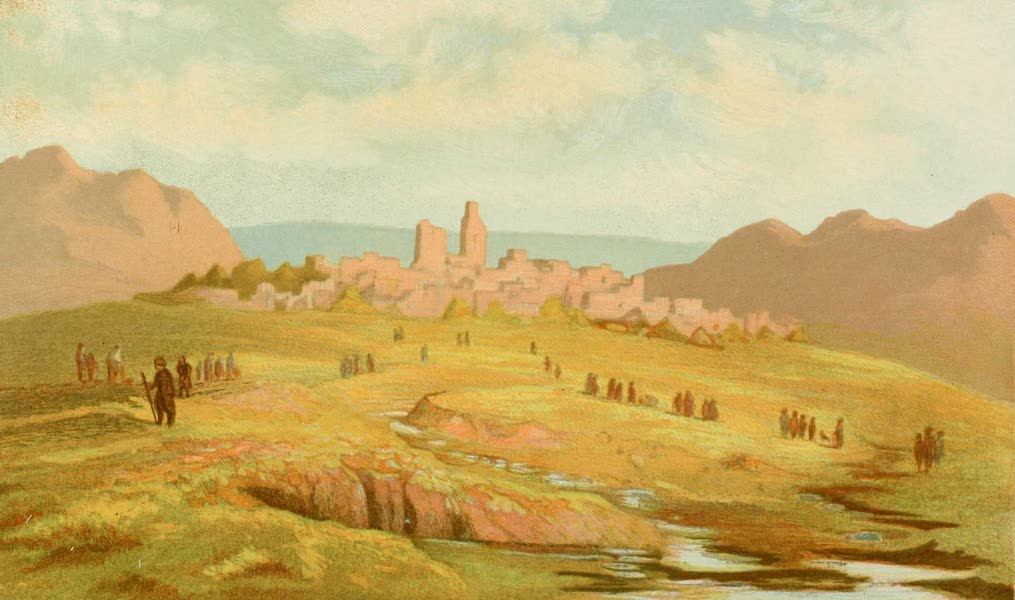 Palestine Illustrated - Jezreel (1888)