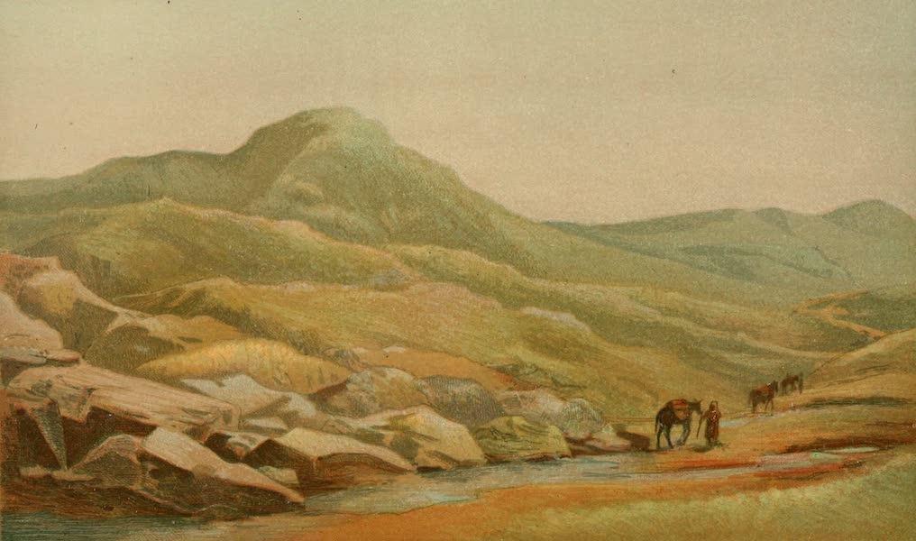 Palestine Illustrated - Hattin or Mount of Beautitudes (1888)