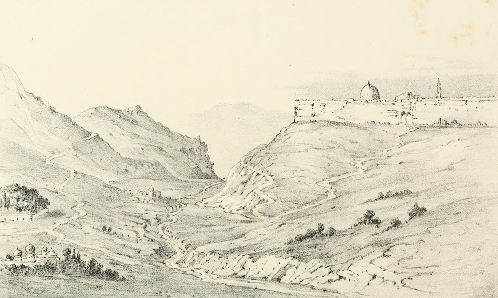 Palestine Illustrated - Valley of Jehoshaphat (1888)