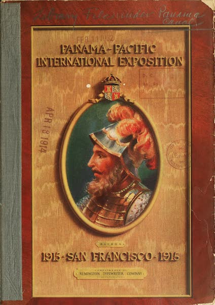 Panama-Pacific International Exposition - Front Cover (1913)