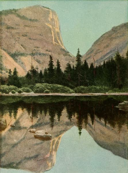 Panama-Pacific International Exposition - Mirror Lake in the Yosemite (1913)