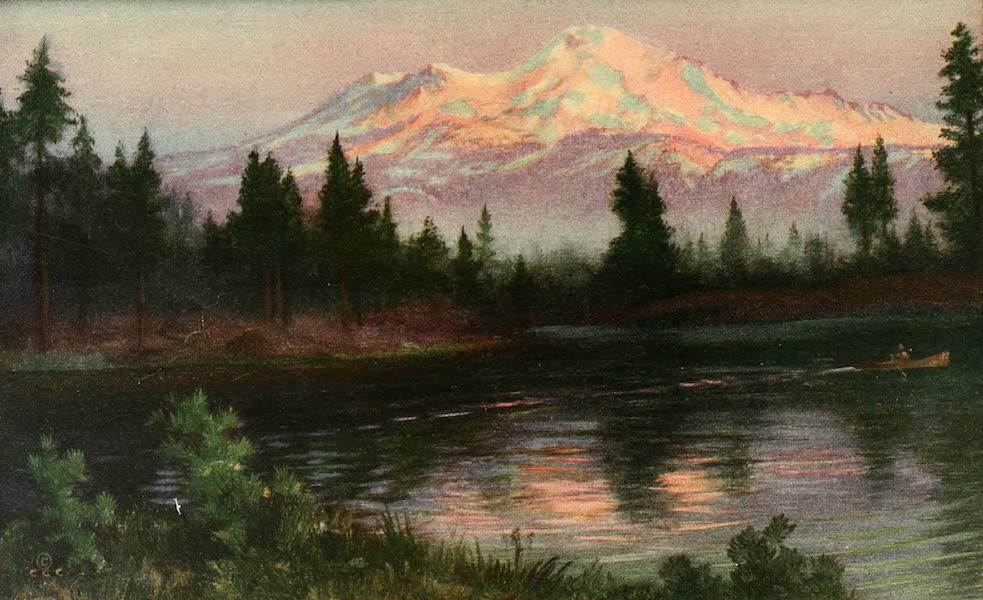 Panama-Pacific International Exposition - Mount Shasta, 14,380 Feet High (1913)