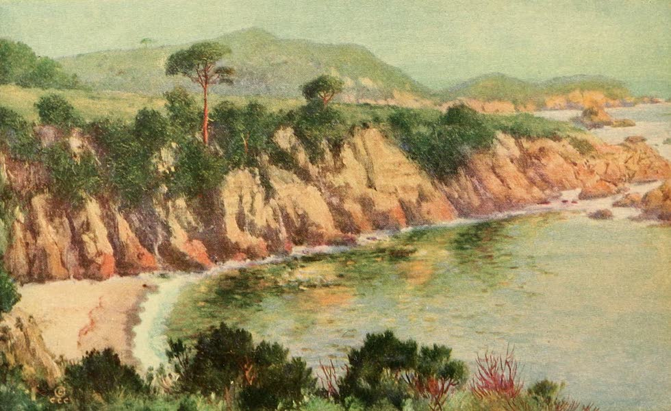 Panama-Pacific International Exposition - Typical Bit of Monterey Bay (1913)