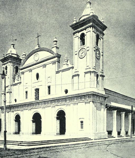 Paraguay by Henry Koebel - The Cathedral, Asuncion (1917)