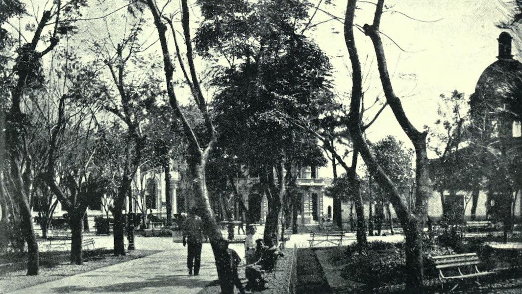 Paraguay by Henry Koebel - Plaza Independence, Asuncion (1917)
